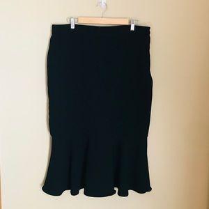 14 Who What Wear Mermaid Skirt Black